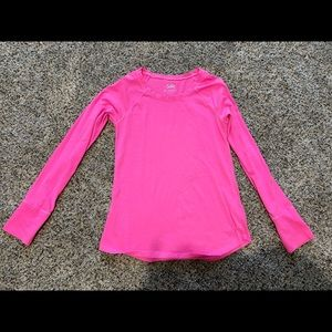 Justice girls long sleeve shirt size 12